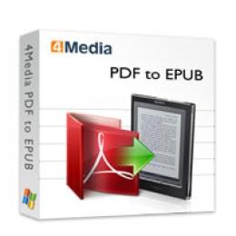 4Media PDF to EPUB Converter