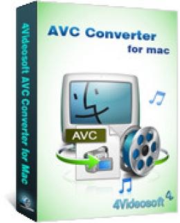 4Videosoft AVC Converter für Mac