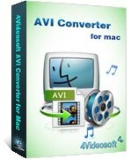 4Videosoft AVI Converter für Mac