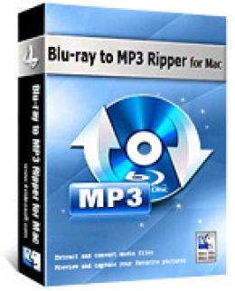 4Videosoft Blu-ray to MP3 Ripper for Mac