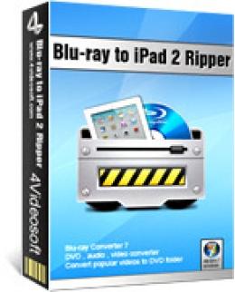 4Videosoft Blu-ray to iPad 2 Ripper