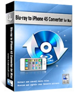 Convertisseur 4Videosoft Blu-ray to iPhone 4S pour Mac