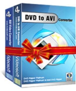 4Videosoft DVD a AVI Suite