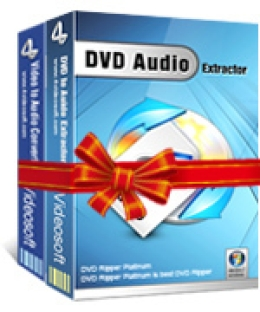 4Videosoft DVD a la suite de audio