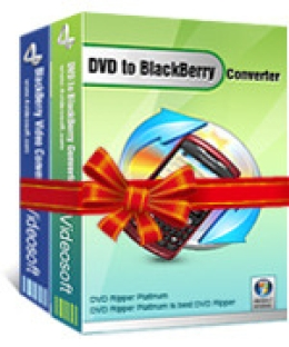 4Videosoft DVD to Blackberry Suite