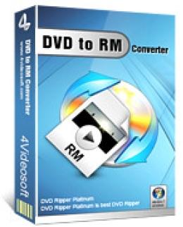 4Videosoft DVD to RM Converter