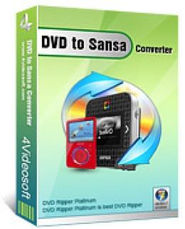 Convertisseur 4Videosoft DVD to Sansa