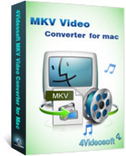 4Videosoft MKV Video Converter pour Mac