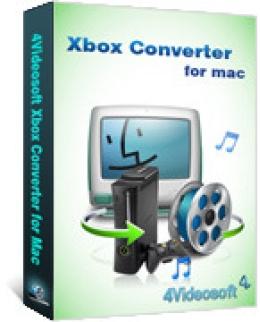 4Videosoft Xbox Converter para Mac