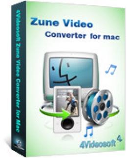 4Videosoft Zune Video Converter für Mac