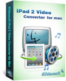 4Videosoft iPad 2 Video Converter for Mac