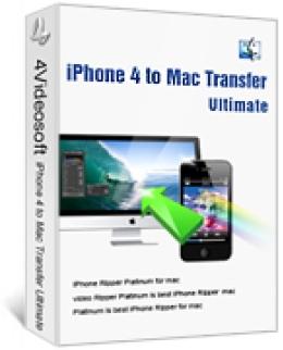 4Videosoft iPhone 4 zu Mac Transfer