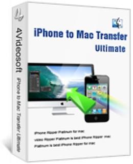 4Videosoft iPhone to Mac Transfer