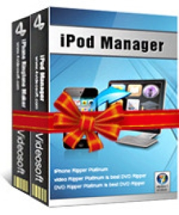 4Videosoft iPod + iPhone Mate