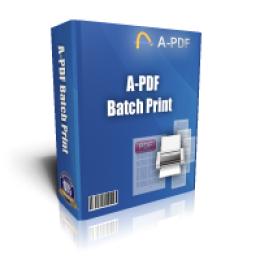 A-PDF Batch Print
