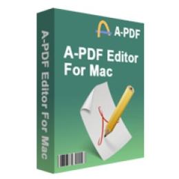 A-PDF Editor for Mac