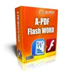A-PDF Flash Word