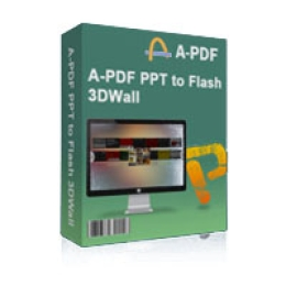 A-PDF PPT to Flash 3D Wall