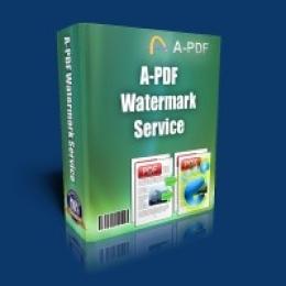 A-PDF Watermark Service