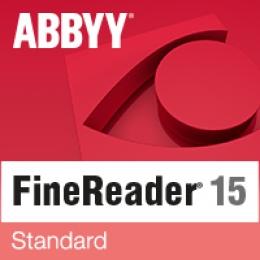 15% ABBYY FineReader 15 Standard Special Promo Code