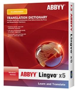 ABBYY Lingvo X5 6 Languages