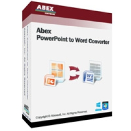 Abex PowerPoint to Word Converter