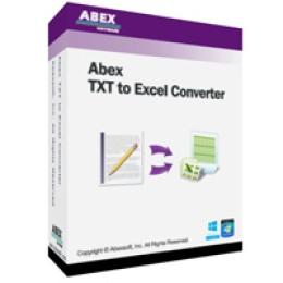 Abex TXT en Excel Convertisseur