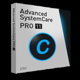 Advanced SystemCare 11 PRO (3 PC / 1 Anno 30-giorni trial gratis) - Italiano