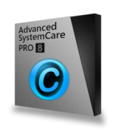 Advanced SystemCare 8 PRO (1 Ano/3 PCs)