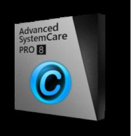 Advanced Systemcare 8 PRO (deux ans / 3 PCs) avec le Paquet cadeau - IU + SD