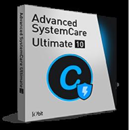SystemCare Ultimate 10 avancé (1 ano / 3PCs) + Brinde - Portugais