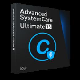 Advanced SystemCare Ultimate 13 mit Geschenkpaket-SD+PF- Deutsch* Promo Coupon Code