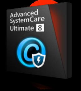 Advanced SystemCare Ultimate 8 (un ordinateur portable 3)