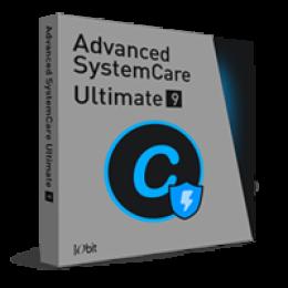 Advanced SystemCare Ultimate 9 (un an dabonnement 1 PC)