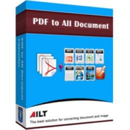 Ailt PDF to DOC TXT Converter
