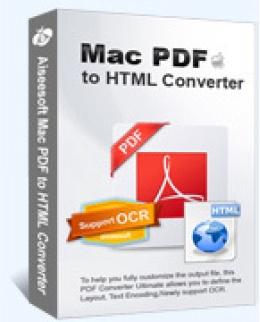 Aiseesoft Mac PDF to HTML Converter