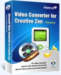 Aiseesoft Video Converter for Creative Zen
