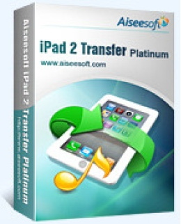Aiseesoft iPad 2 Platino de transferencia