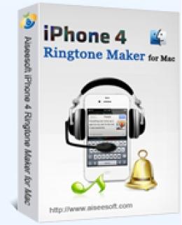 Aiseesoft iPhone 4 Ringtone Maker for Mac