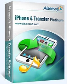 Aiseesoft iPhone 4 Platino de transferencia