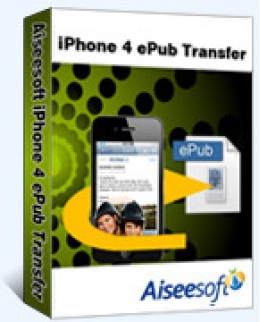 Aiseesoft iPhone 4 ePub Übertragung