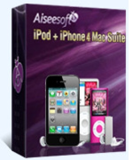 Aiseesoft iPod + iPhone 4 Mac Suite