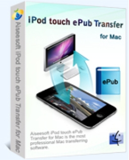 Aiseesoft iPod touch ePub Transfer for Mac