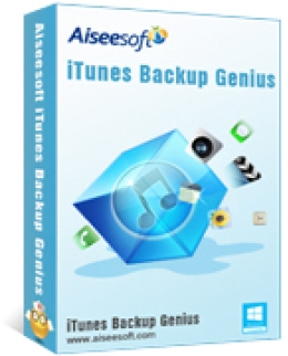 Aiseesoft iTunes Backup Genius