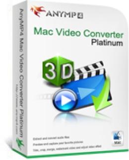 AnyMP4 Mac Video Converter Platinum