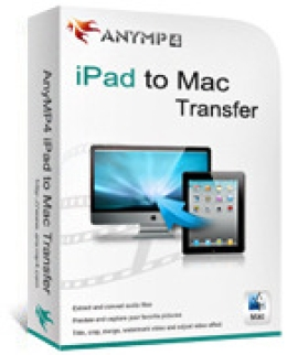 AnyMP4 iPad para Mac Transfer