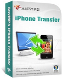 IPhone AnyMP4 Transferencia