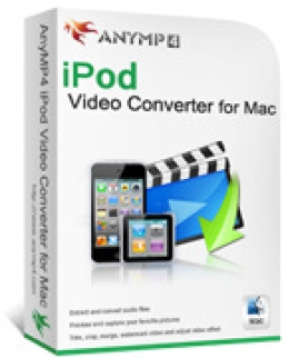 AnyMP4 iPod Video Converter für Mac