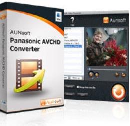 Aunsoft Panasonic AVCHD Converter pour Mac