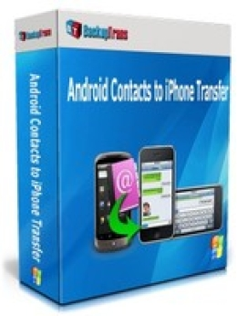 Backuptrans Contacts Android pour transfert iPhone (utilisation unique)